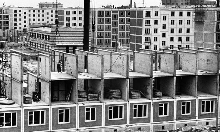 О развитии жилищной архитектуры Баку в годы советской власти