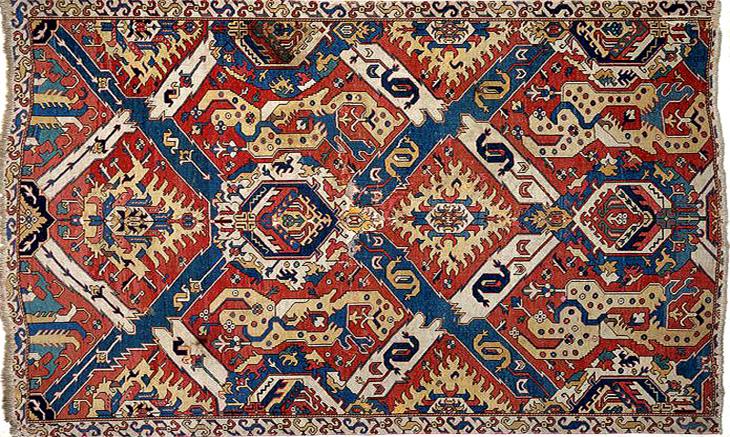 «Драконовые» ковры Азербайджана: история и происхождение