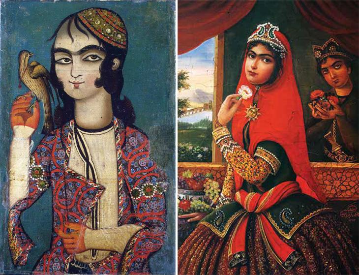 О браке дочери карабахского хана с персидским шахом Каджаром