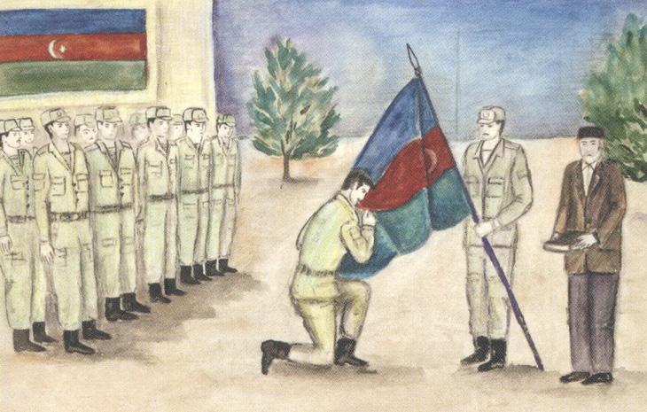 """Карабахская война и """"черный Январь"""" глазами детей в 1990-1992 гг. (58 ФОТО)"""