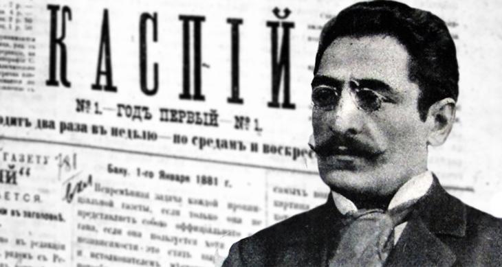 О публицистике Ахмед бека Агаева в газете «Каспий»