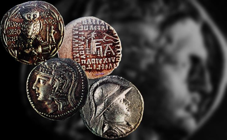 Монеты-подражания обращавшиеся в Атропатене и Кавказской Албании (IV в. до н.э. - III в. н.э.) - ФОТО