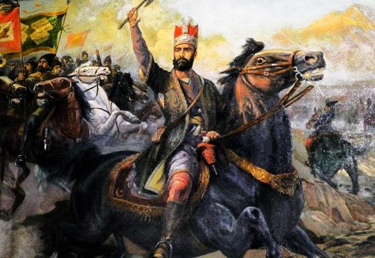 Как Надир шах громил Османские войска и восстанавливал государство Сефевидов