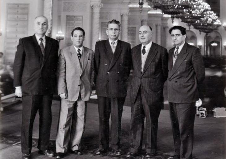 О попытках объединения Азербайджанской Демократической Партии и Народной Партии Ирана (1952-1994)