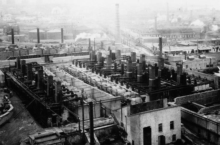 Становление процесса пиролиза на нефтеперерабатывающих заводах Баку