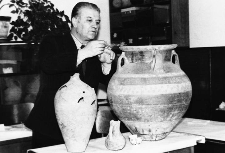 Ученый-кавказовед Дж.Халилов: первооткрыватель памятника Сары-тепе