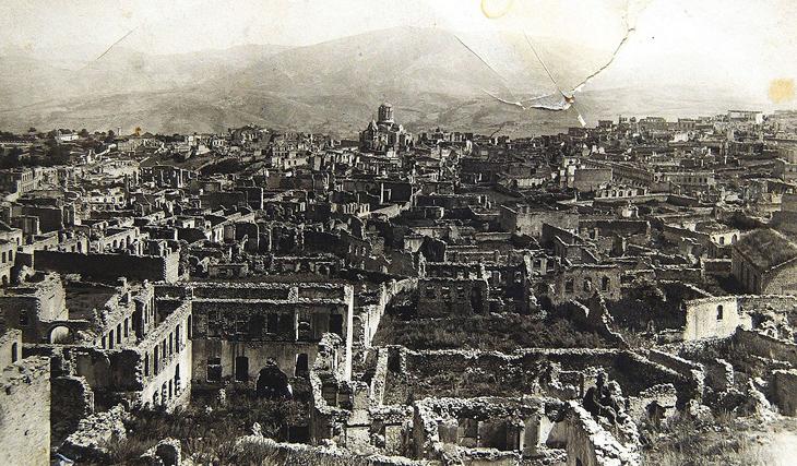 По историческим документам: АДР подавляет армянский мятеж в Карабахе (1920 г.)