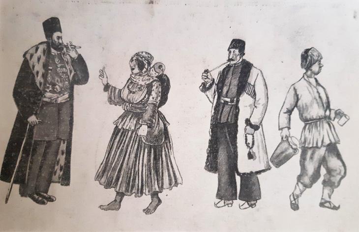Образы и типы азербайджанцев в работах великого Азима Азимзаде (ФОТО)