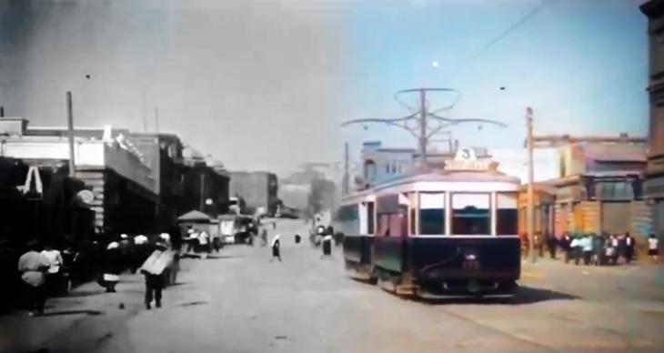 Баку 1930-х годов в цвете (ВИДЕО)