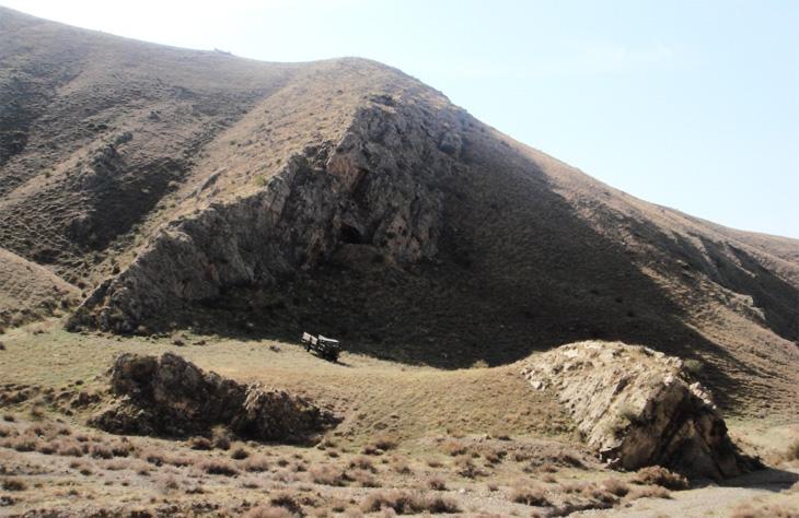 Пещера Газма - первая палеолитическая стоянка в Нахчыване