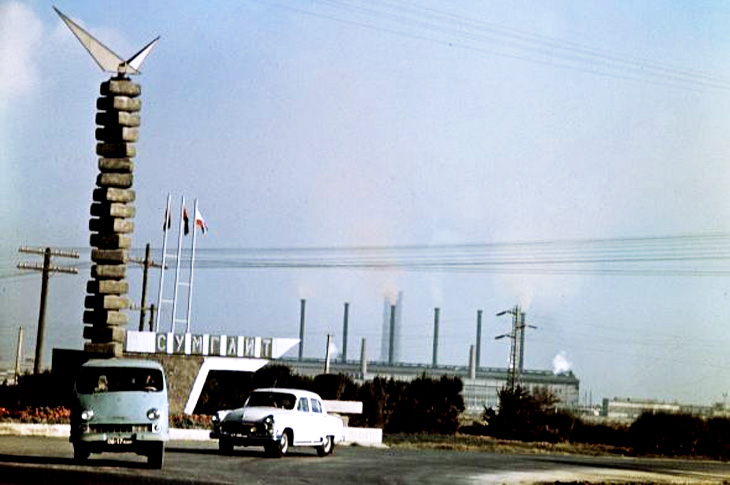 Химпром Сумгаита и шрамы индустриального прошлого (конец 1980-х)