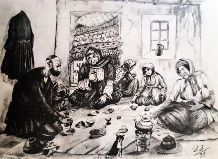 Карикатуры знаменитого Азима Азимзаде советских времен (ФОТО)