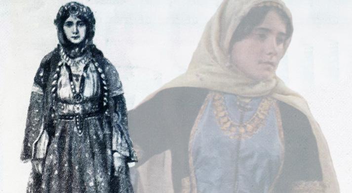 Как одевались женщины в Шеки (по материалам 1904-1919 гг., ФОТО)