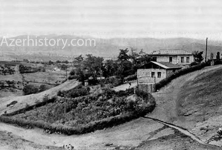 Редкие фото деревни Малыбейли Ходжалинского района Азербайджана (1971-72 гг.)