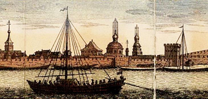 Волжско-Каспийский торговый маршрут в жизни государства Сефевидов