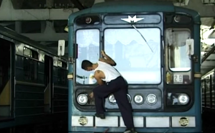 Бакинский метрополитен в 1999 году (ВИДЕО)