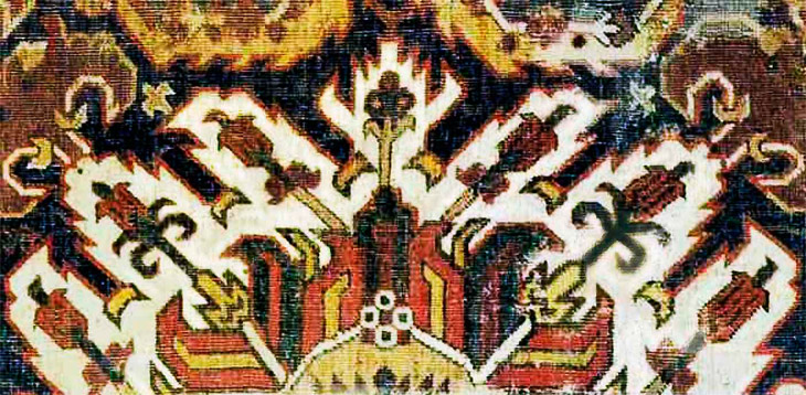 Карабахский ковер «Челеби»: История, происхождение и символизм мотивов