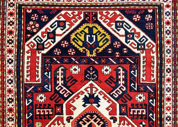 """Карабахский ковер """"Гасымушагы"""" и его """"драконовые"""" предки"""