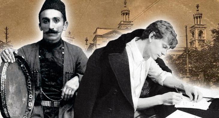 О встрече С.Есенина с исполнителем азербайджанских народных песен Дж.Карягдыоглу