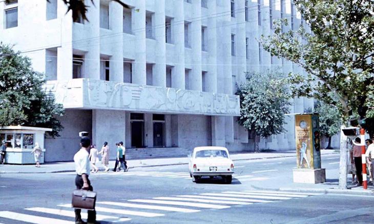 Баку в 1972 году от В.Балабина (ФОТО)