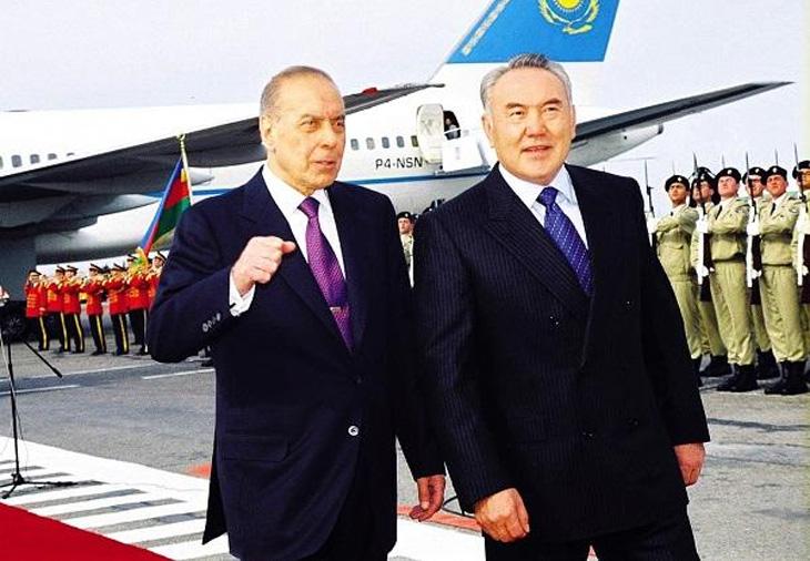 Отношения Азербайджана и Казахстана в 1990-е годы