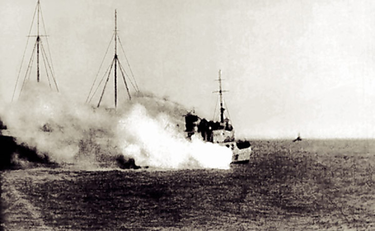 Из истории Каспийской флотилии в годы Великой Отечественной войны (1941-1945)