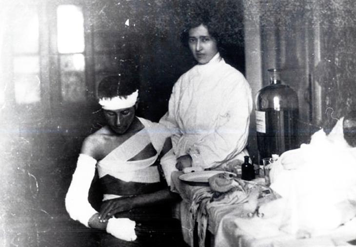 О помощи пострадавшим во время бакинской резни 1905-1907 гг.