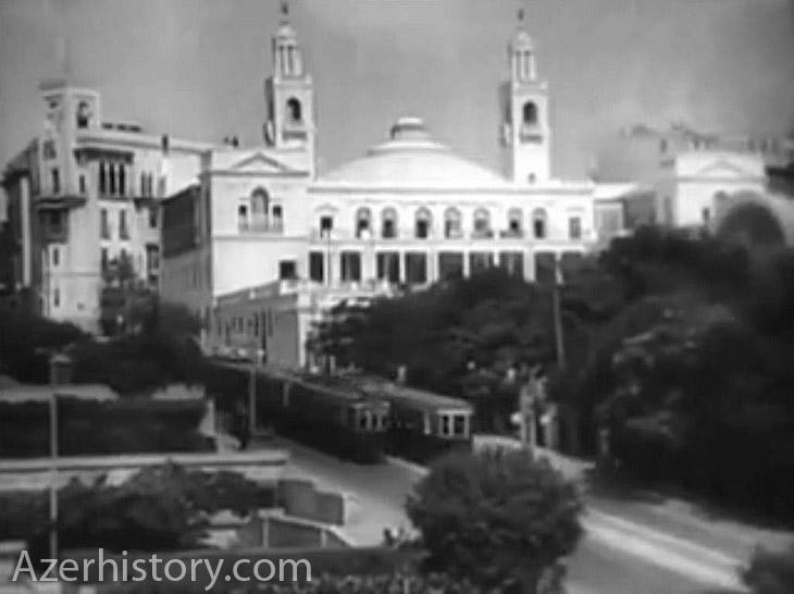 Баку 1945 года на кадрах кинохроники (ФОТО)