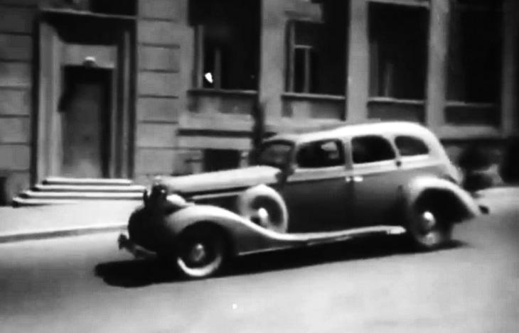 Бакинский транспорт в кадрах кинохроники 1940-х гг. (ФОТО)