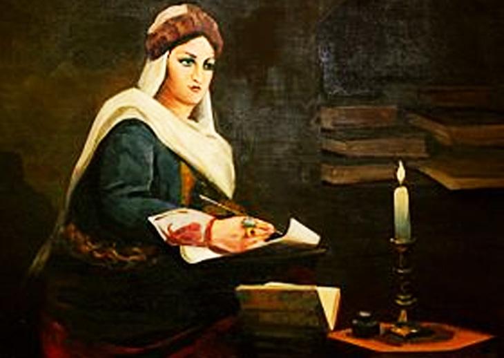 О загадках в стихах гянджинской волшебницы Мехсети Гянджеви