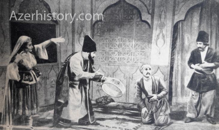 Произведения М.Ф.Ахундова на советской сцене (1920е-1950е гг.)