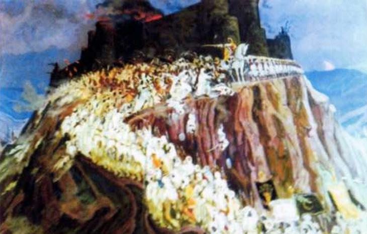 Описание крепости Баллабур в Ленкорани (записано в 1936 г.)