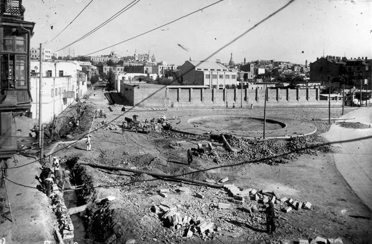 Начало 1940-х гг.: Начало строительства «Жилого дома учёных» в Баку (ФОТО)
