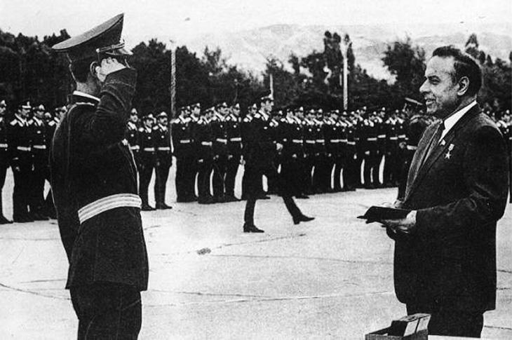 Гейдар Алиев и строительство Вооруженных сил Азербайджана в советское время