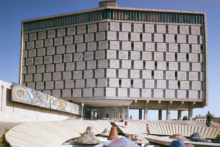 """Исчезнувший """"Карабах"""": бакинская гостиница прошлых лет (ФОТО)"""