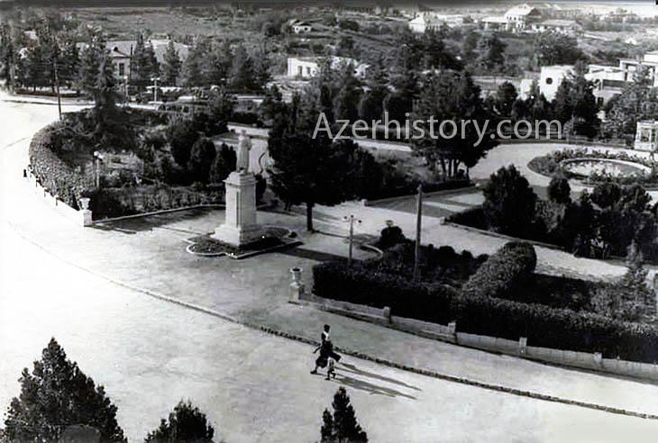 Город Ханкенди в Нагорном Карабахе 1950-х годов (ФОТО)