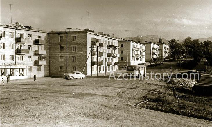 Город Ханкенди в Нагорном Карабахе 1960-х годов (ФОТО)