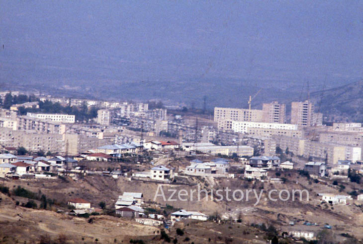 1989 год.- Вид на город. Фото Сергея Титова
