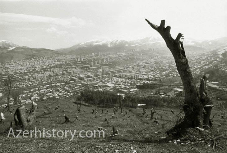 Ханкенди (Нагорный Карабах) в 1980-х гг. (ФОТО)