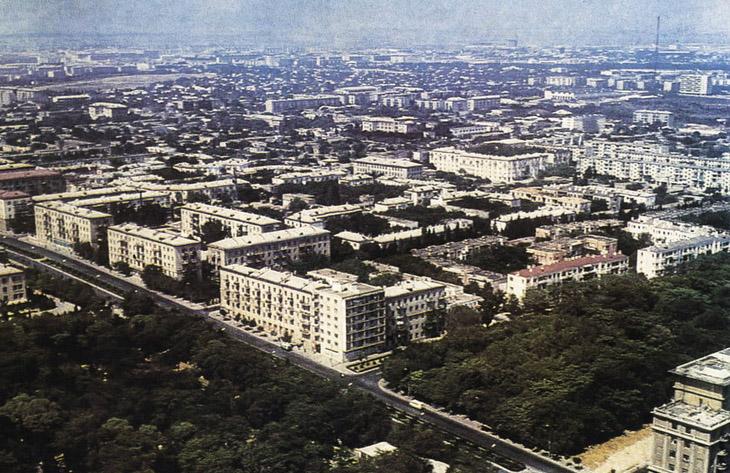 О характере планировки Баку в 1960х-1980х годах