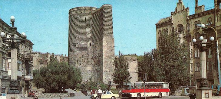 Баку из наборов открыток 1974 г. (ФОТО)