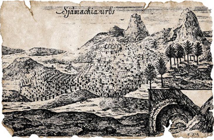 Путешествие З.Ширвани в Азербайджан в 1796 г.: О Шемахе, Ахсу, Габале