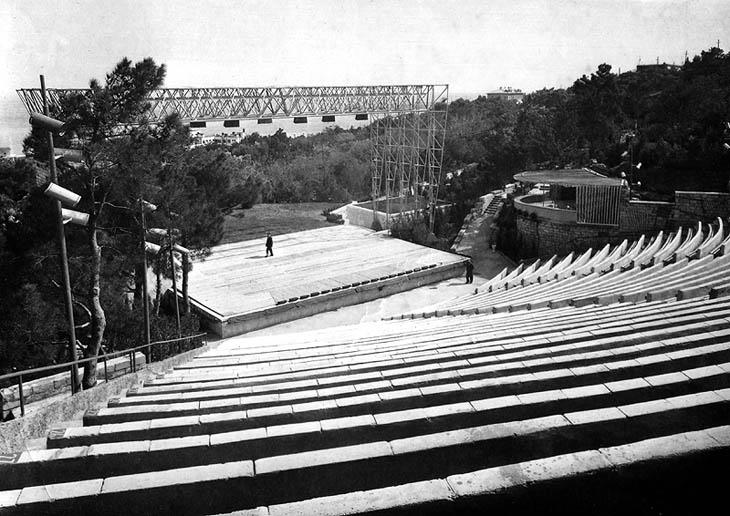 История создания Зеленого театра в Баку (ФОТО)