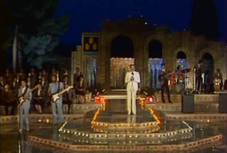 Как это было: «Песня-87» в бакинском Зеленом театре (ФОТО)