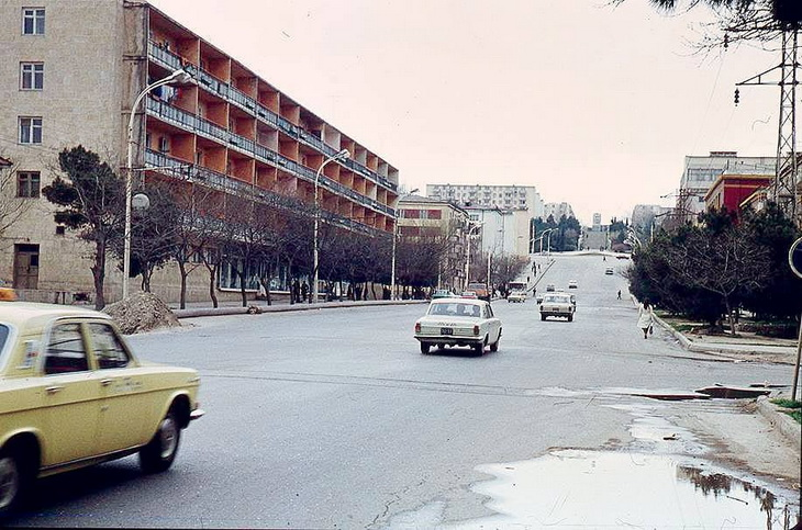 Виды Баку глазами О.Дадашева конца 1970х - начала 1980х гг. (ФОТО)