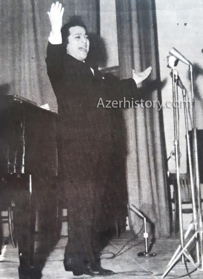 Rashid Behbudov Iran Gastroli