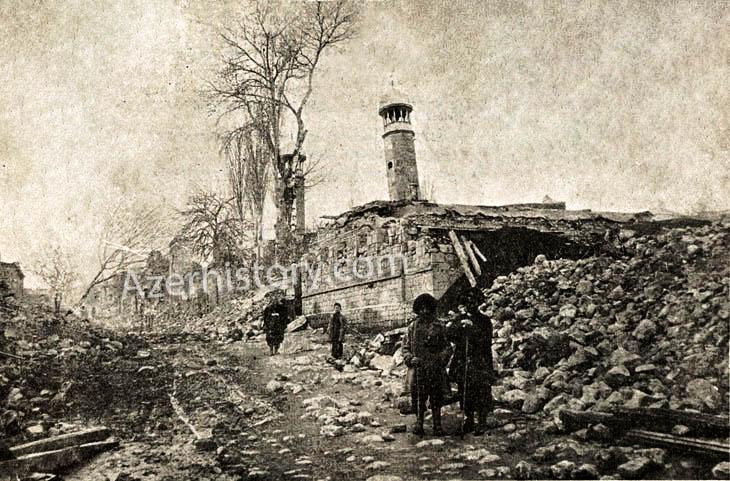 Землетрясение в Шемахе 1902 г. на уникальных снимках Д.Ермакова (ФОТО)