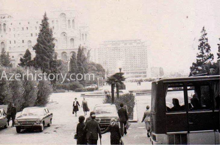 Неизвестные снимки Баку 1970-х гг. из личного архива жителя Украины (ФОТО)