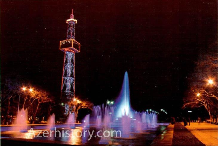 Набор открыток с видами Баку начала 2000-х гг. (ФОТО)
