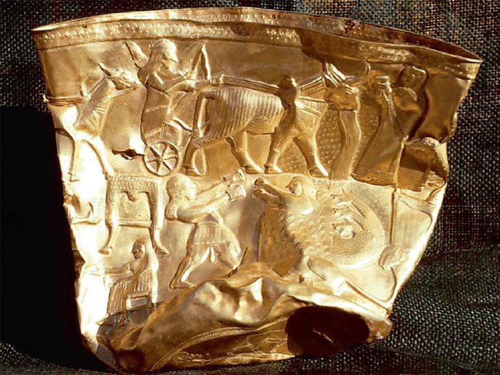 Чаша из Хасанлу: источник для изучения верований в древнем Азербайджане